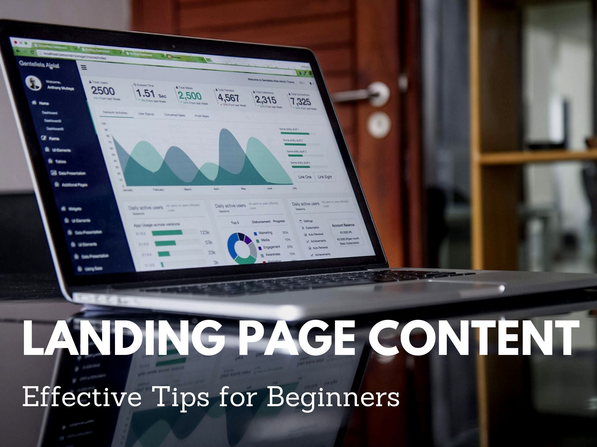 Landing Page content for Beginner