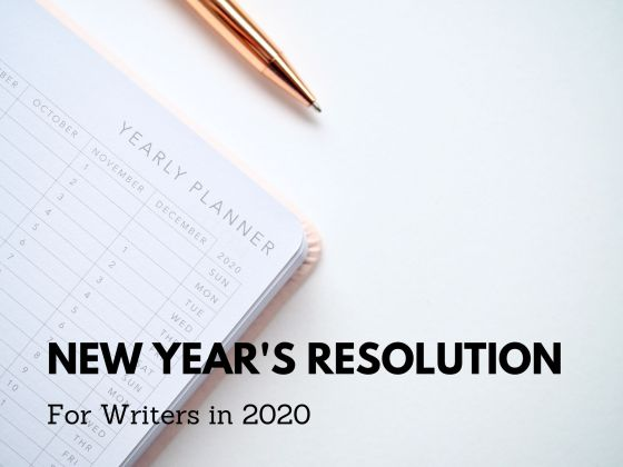 New Year's Resolution for Writers in 2020