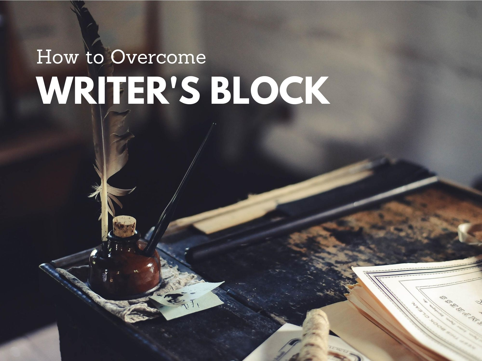 Meaning of Writer's Block and How to Overcome it.